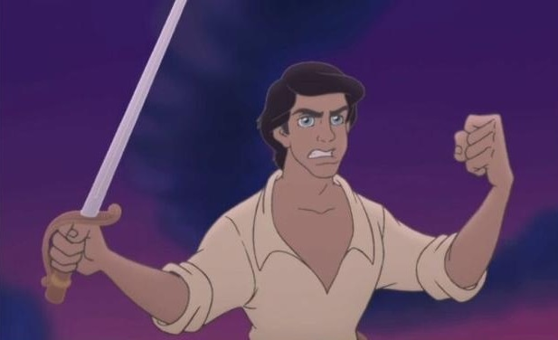 how to draw prince eric