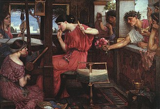 330px-JohnWilliamWaterhouse-PenelopeandtheSuitors(1912).jpg